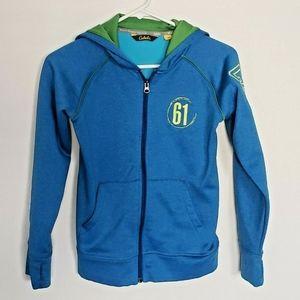 5/$25 | Cabelas M Sweatshirt Jacket Blue Unisex